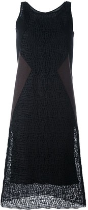 Neil Barrett Textured Shift Dress