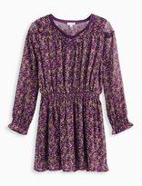 Splendid Little Girl Printed Crinkle Chiffon Dress
