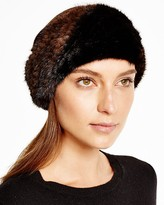 Maximilian Knitted Mink Headband