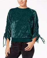 Ultra Flirt Juniors' Crushed Velvet Sweatshirt