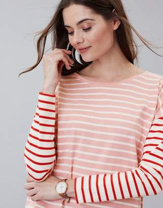 Joules Marina Stripe Dropped Shoulder Jersey Top