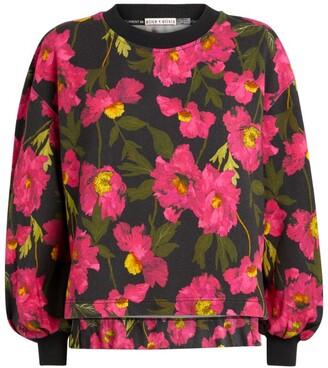 Alice + Olivia Floral Gaia Sweatshirt
