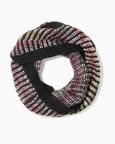 Charming charlie Multicolor Stripe Infinity Scarf