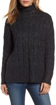 Women's Press Pointelle Turtleneck Sweater