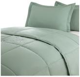 Epoch Hometex/Lotus Home Lotus Home Water & Stain Resistant Microfiber Comforter Mini Set, Sage