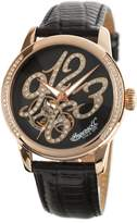 Ingersoll Ingeroll Women' IN4901RBR Analog Diplay Automaticelf Wind Black Watch