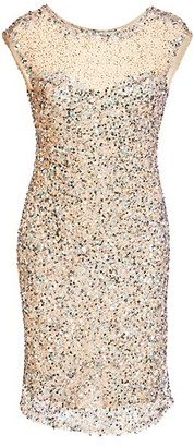 Parker Black Sequin Bodycon Mini Dress