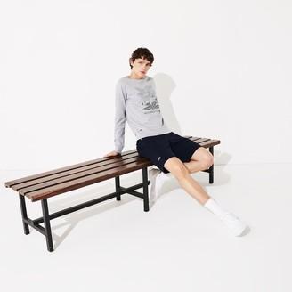 Lacoste Men's SPORT Roland Garros Plant Print Sweatshirt