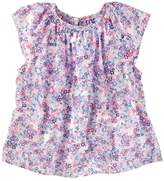 Osh Kosh Toddler Girl Floral Poplin Top