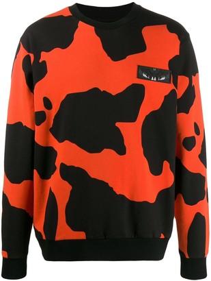 Marcelo Burlon County of Milan Camouflage Pattern Sweatshirt