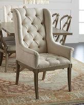 Bernhardt Gant Tufted Hostess Chair