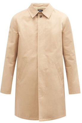 A.P.C. Mac Ville Trench Coat - Beige