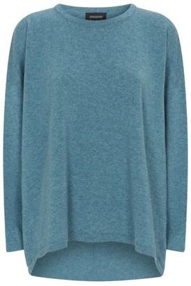eskandar Cashmere Dropped Hem Sweater
