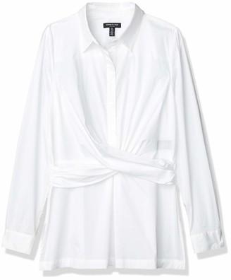 Kenneth Cole Women's Super Stretch Shirt