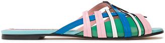 Emilio Pucci Leather Slides
