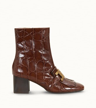 Tod's Kate Ankle Boots in Leather