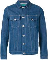 Paura unwashed jeans jacket