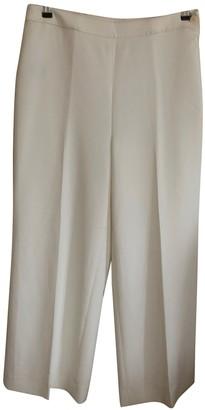 Lauren Ralph Lauren White Trousers for Women