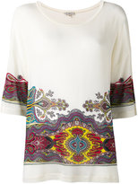 Etro abstract print loose-fit T-shirt