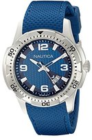 Nautica Men's NAD12522G NCS 16 Analog Display Japanese Quartz Blue Watch