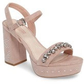 Topshop Women's Lovely Embellished Platform Sandal