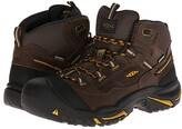 Keen Braddock Mid WP (Cascade Brown/Tawny Olive) Men's Work Lace-up Boots