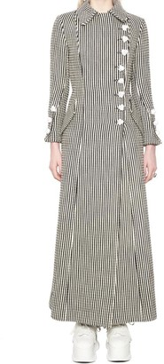 Marques Almeida Striped Long Coat