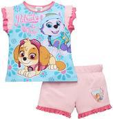 Paw Patrol Girls Shorty Pyjamas