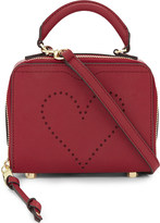 Rebecca Minkoff Love perforated leather cross-body bag