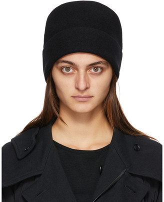Y's Ys Black Basque Big Watch Beanie
