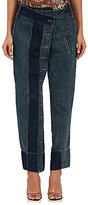 Gary Graham Women's Patchwork Crop Jeans