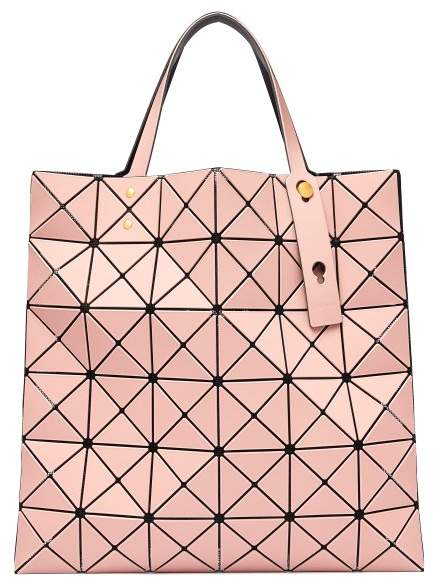 Bao Bao Issey Miyake Lucent Frost Tote - Womens - Dusty Pink