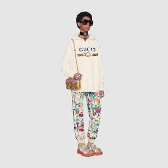Gucci Oversize sweatshirt with Blade