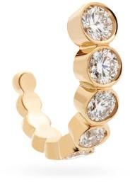 Sophie Bille Brahe Ensemble Diamond & 18kt Gold Single Earring - Diamond