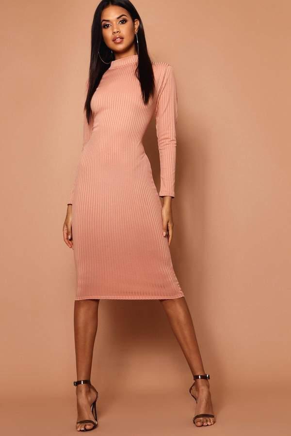 27b93da07904e Orange High Neck Dresses - ShopStyle