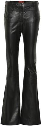 Altuzarra Serge mid-rise leather bootcut pants
