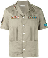 Valentino cigar-box appliqué shirt - men - Cotton - 39
