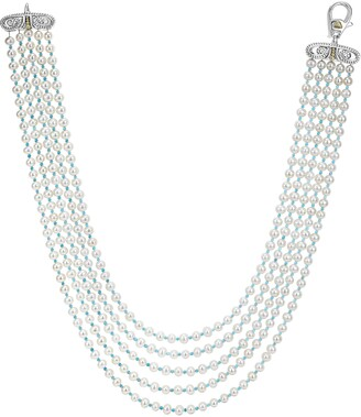 Lagos Caviar Icon Beaded Five Strand Necklace
