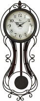 Asstd National Brand FirsTime Fleur De Lis Wall Clock
