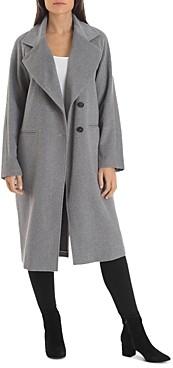 AVEC LES FILLES Double-Breasted Coat