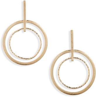 Panacea Double Circle Earrings
