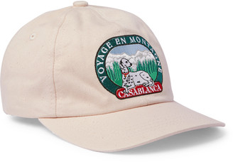 Casablanca Appliqued Cotton-Twill Baseball Cap