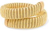 Carolina Bucci Caro Gold-plated And Lurex Bracelet