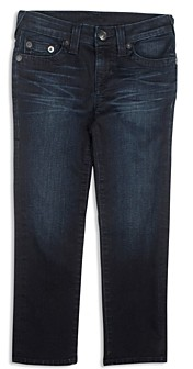 True Religion Boys' Geno Slim Straight Jeans - Little Kid, Big Kid