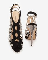 Alexandre Birman Strappy Python Sandal