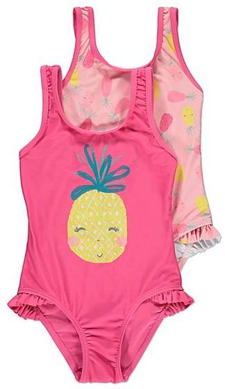 George Pineapple Swimsuits 2 Pack