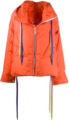 KHRISJOY Zipped Oversized Jacket