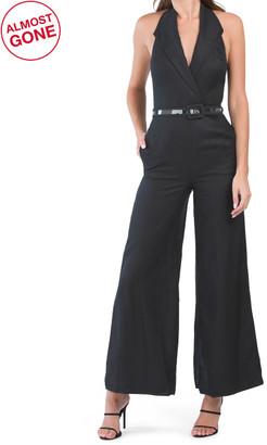 Lightweight Linen Marie Jumpsuit
