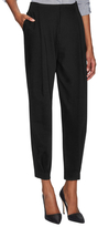 Alice + Olivia Cropped Clean Pleated Balloon Pant
