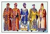 """Buyenlarge """"Odd Fellows: Men in Robes And Turbans"""" Print (Canvas 20x30)"""